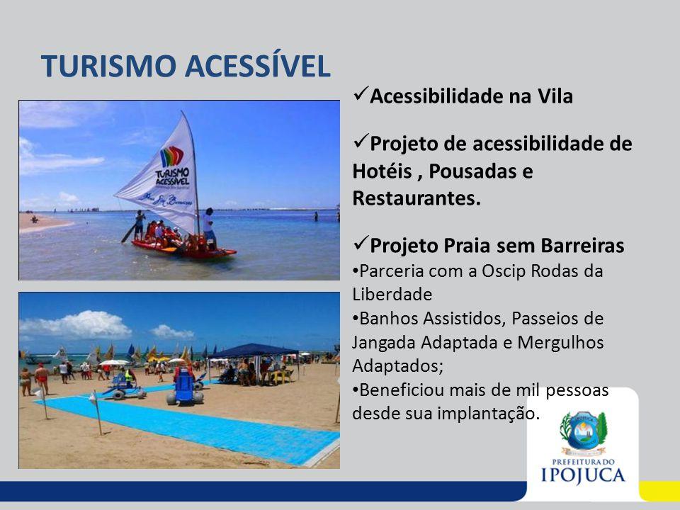 TURISMO ACESSÍVEL Acessibilidade na Vila