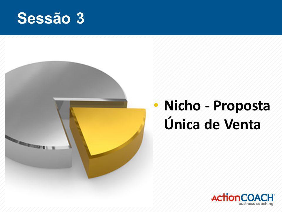 Sessão 3 Nicho - Proposta Única de Venta