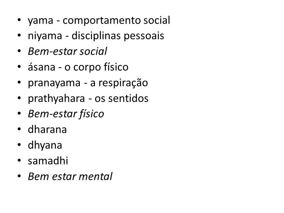 yama - comportamento social