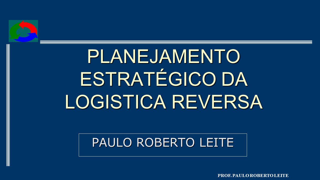 PLANEJAMENTO ESTRATÉGICO DA LOGISTICA REVERSA