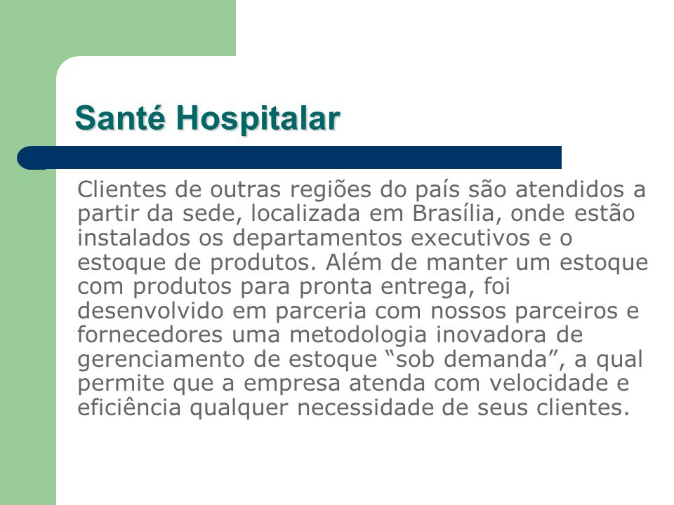 Santé Hospitalar