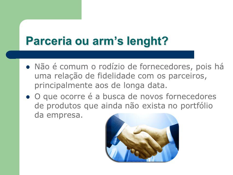 Parceria ou arm's lenght