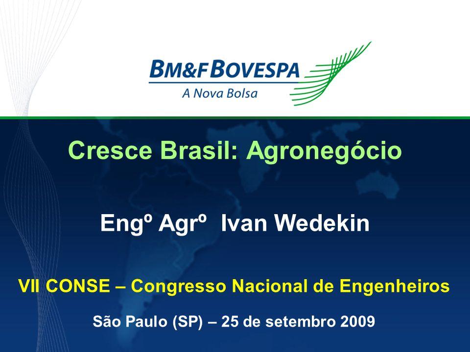 Cresce Brasil: Agronegócio