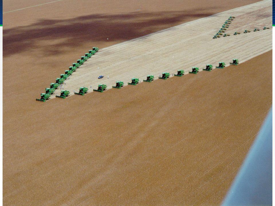 A seguir algumas fotos da agricultura empresarial de Mato Grosso.