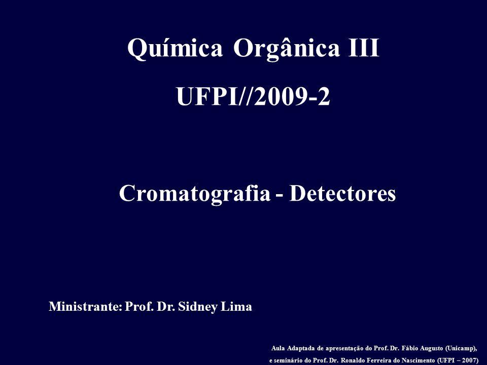 Química Orgânica III UFPI//2009-2