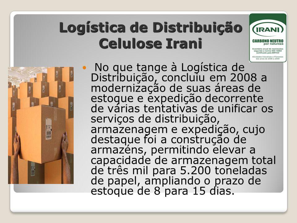 Logística de Distribuição Celulose Irani