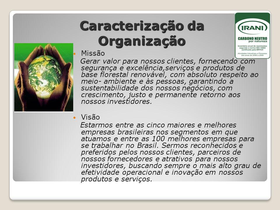 Caracterização da Organização