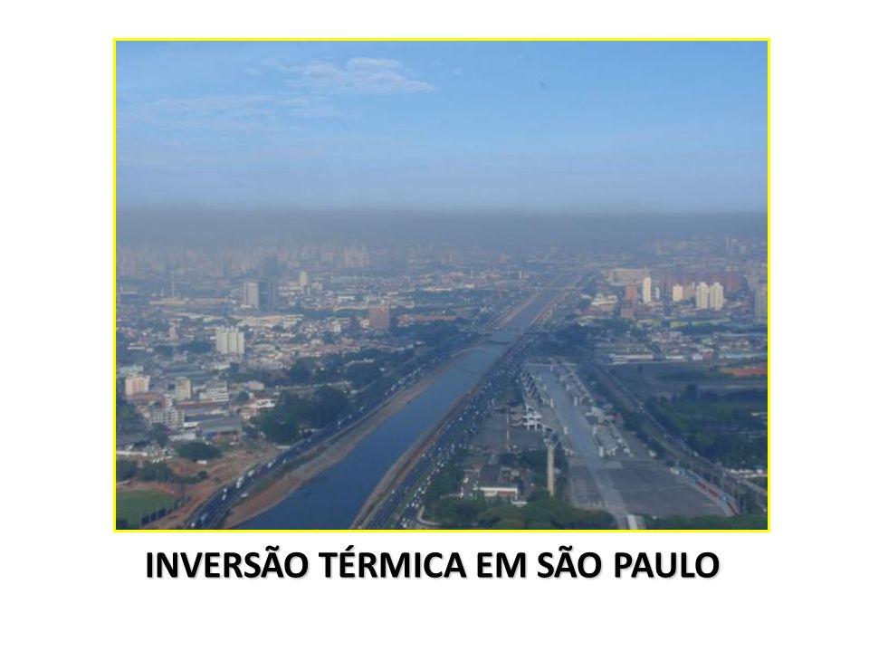 INVERSÃO TÉRMICA EM SÃO PAULO