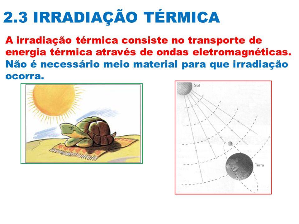 2.3 IRRADIAÇÃO TÉRMICA