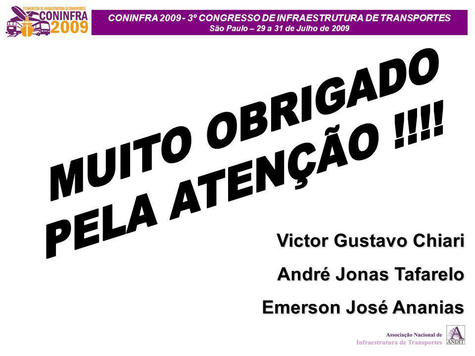 MUITO OBRIGADO PELA ATENÇÃO !!!! Victor Gustavo Chiari