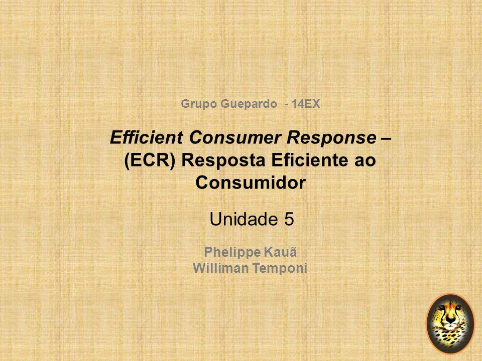 Efficient Consumer Response – (ECR) Resposta Eficiente ao Consumidor