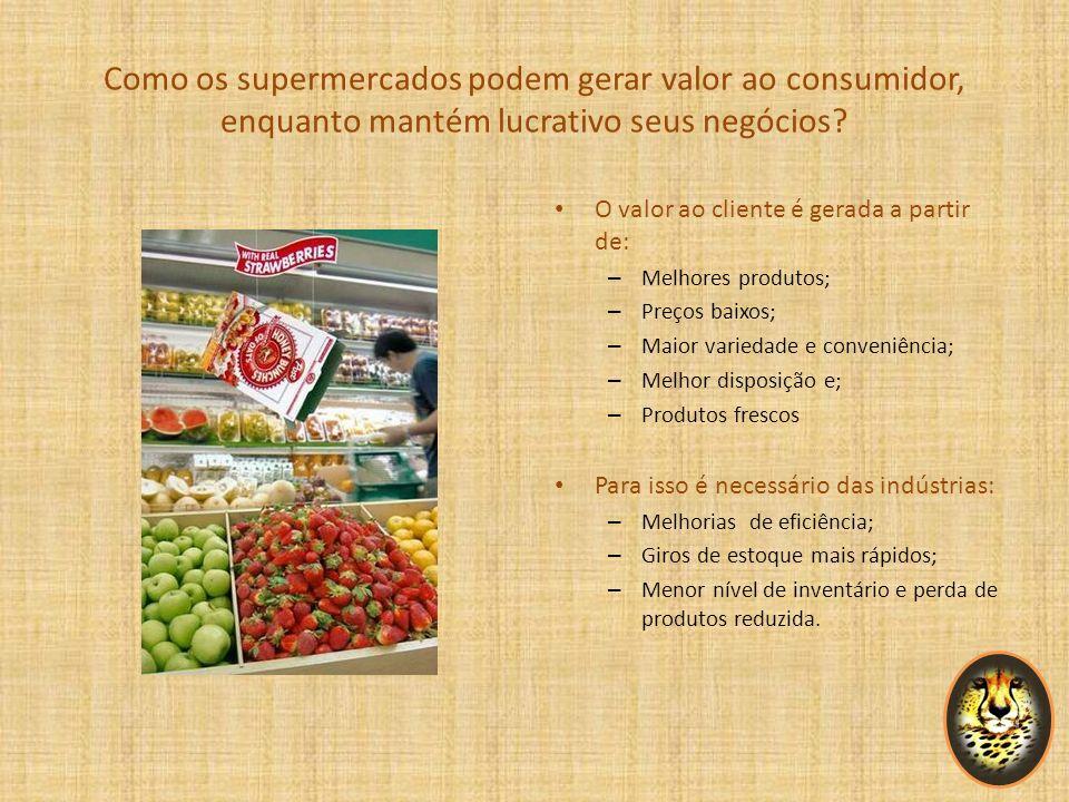 Como os supermercados podem gerar valor ao consumidor, enquanto mantém lucrativo seus negócios