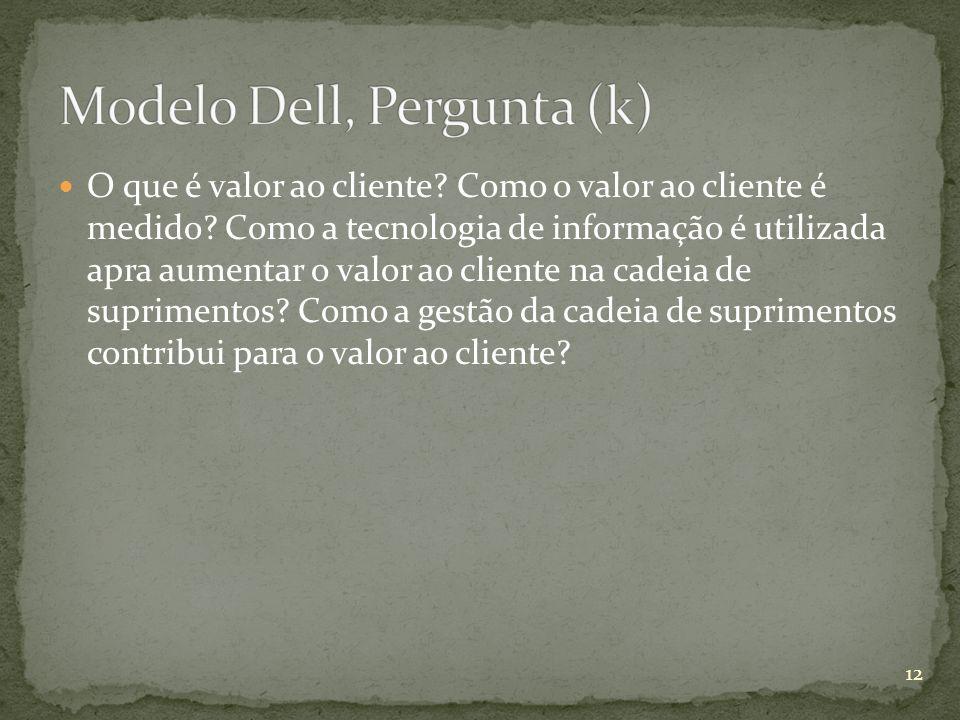 Modelo Dell, Pergunta (k)