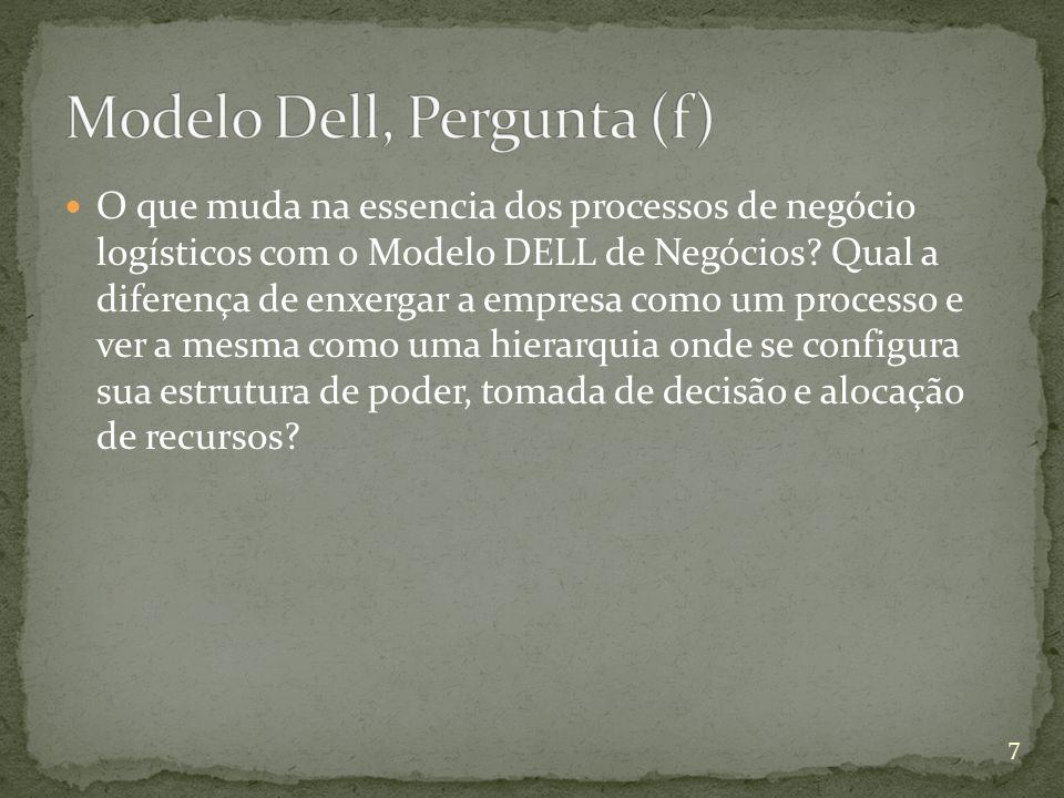 Modelo Dell, Pergunta (f)