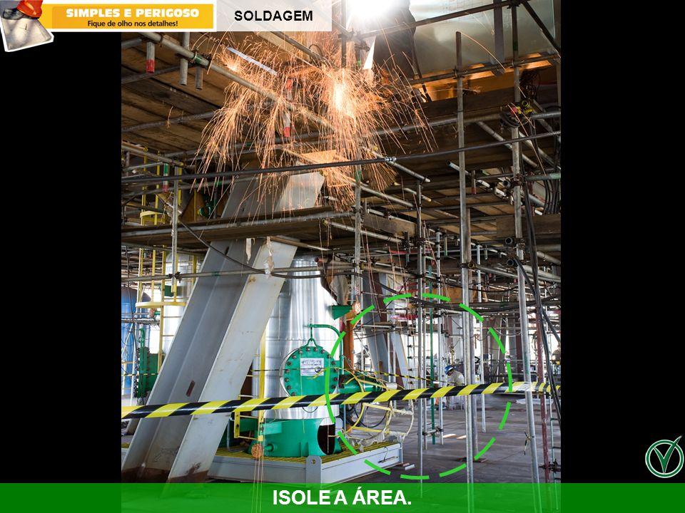 SOLDAGEM Anotações – Atenção pois este desvio gerou um acidente sem afastamento na Engenharia . Veja como aconteceu :
