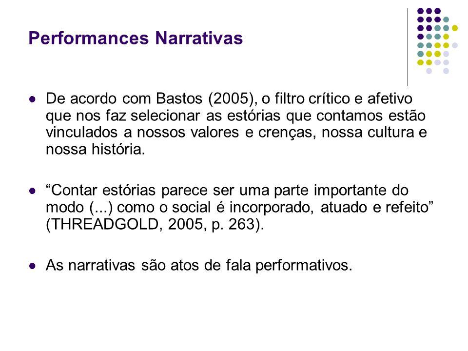 Performances Narrativas