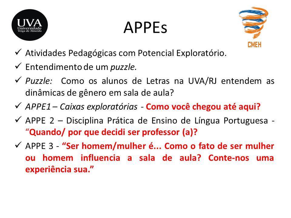 APPEs Atividades Pedagógicas com Potencial Exploratório.