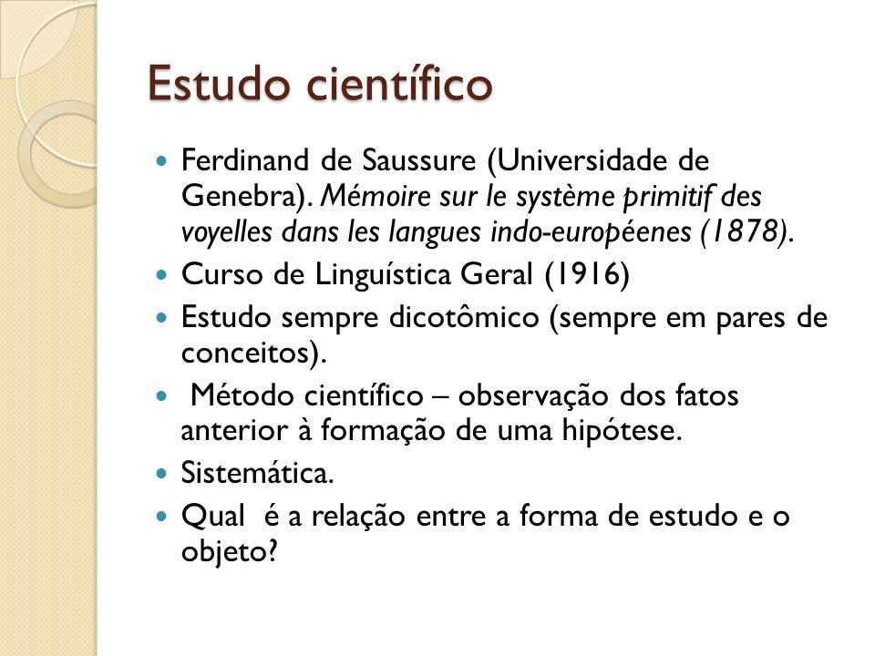 Estudo científico