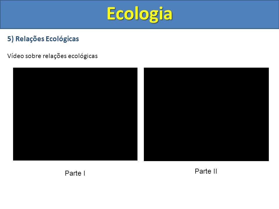 Ecologia 5) Relações Ecológicas Vídeo sobre relações ecológicas
