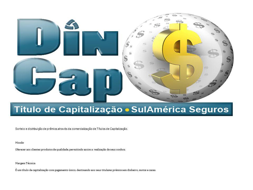 Objetivo Sorteio e distribuição de prêmios através da comercialização de Títulos de Capitalização. Missão.