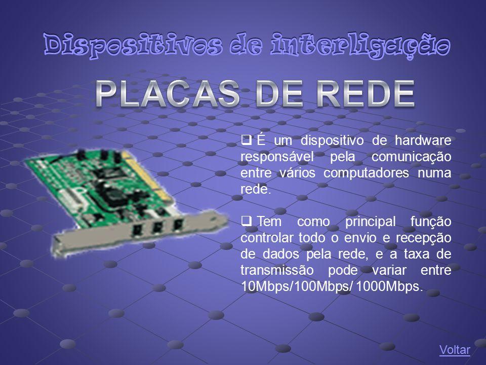 Dispositivos de interligação
