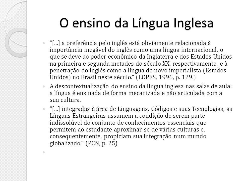 O ensino da Língua Inglesa