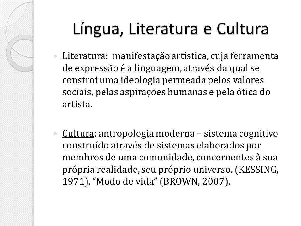 Língua, Literatura e Cultura