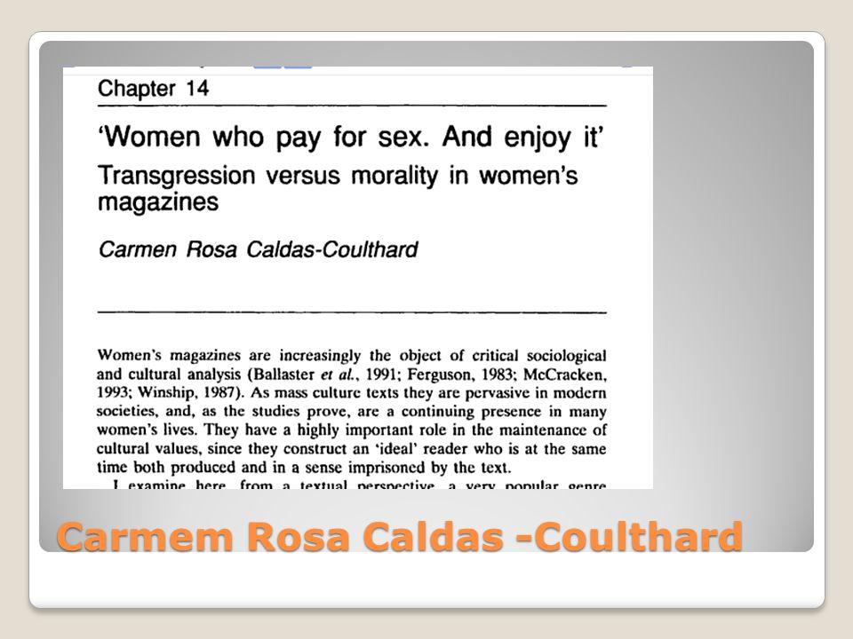 Carmem Rosa Caldas -Coulthard