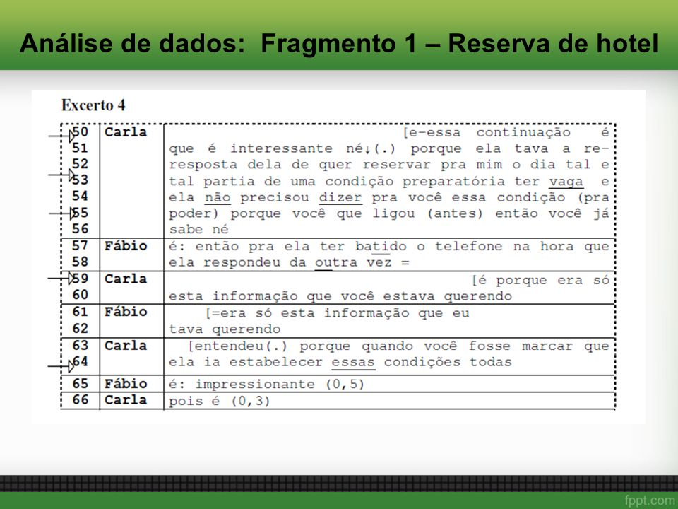 Análise de dados: Fragmento 1 – Reserva de hotel