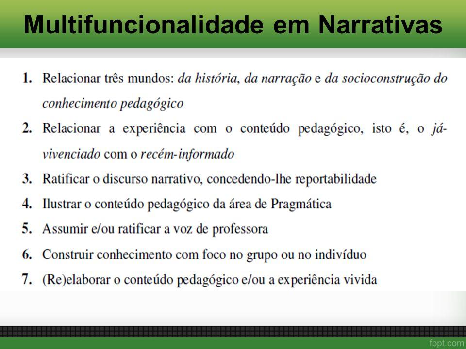 Multifuncionalidade em Narrativas