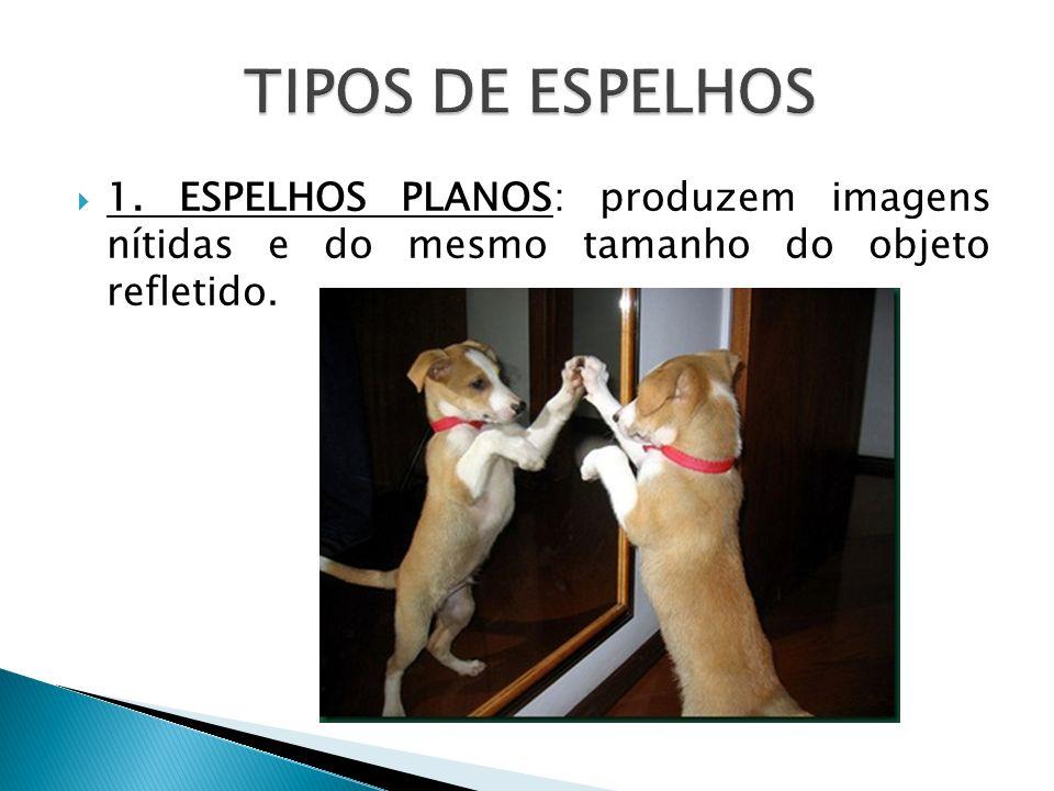 TIPOS DE ESPELHOS 1.