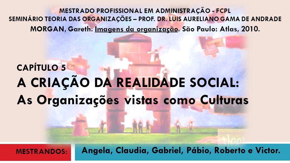 MORGAN, Gareth. Imagens da organização. São Paulo: Atlas, 2010.
