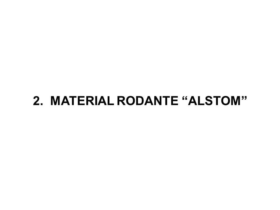 2. MATERIAL RODANTE ALSTOM