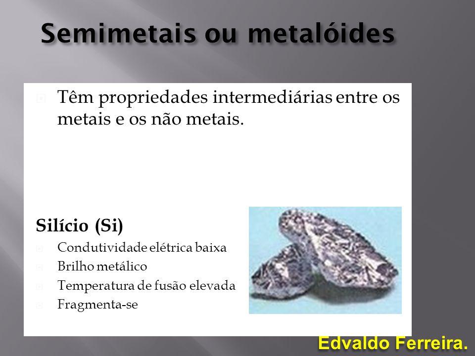 Semimetais ou metalóides