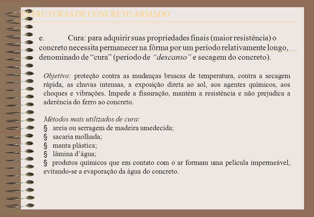 ESTRUTURAS DE CONCRETO ARMADO