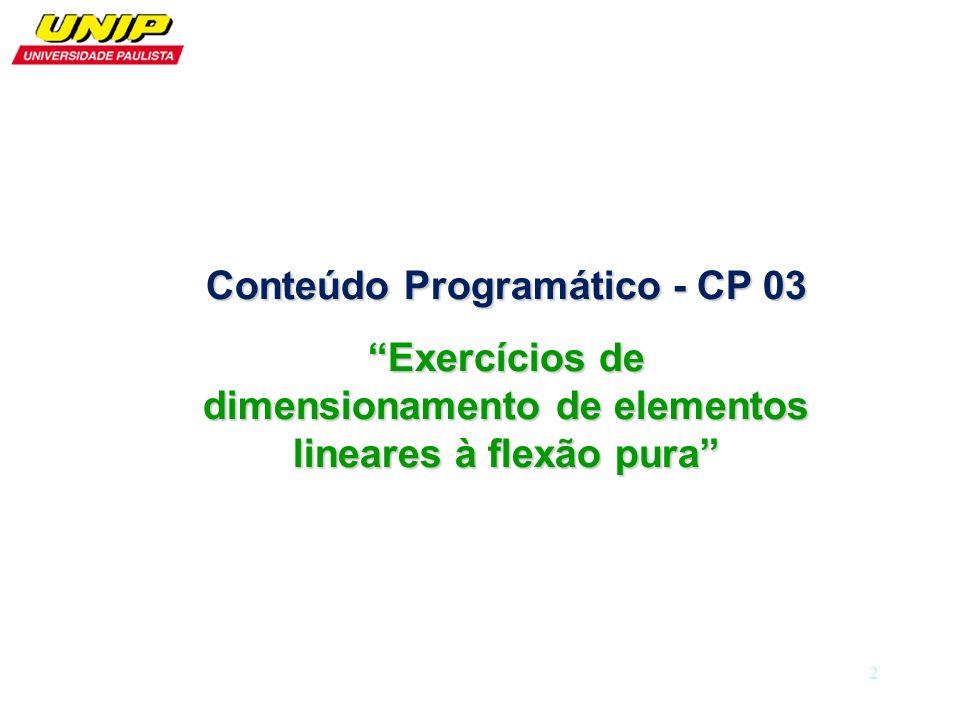 Conteúdo Programático - CP 03