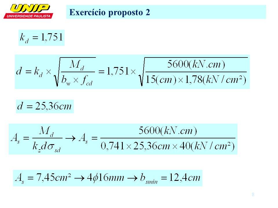 Exercício proposto 2