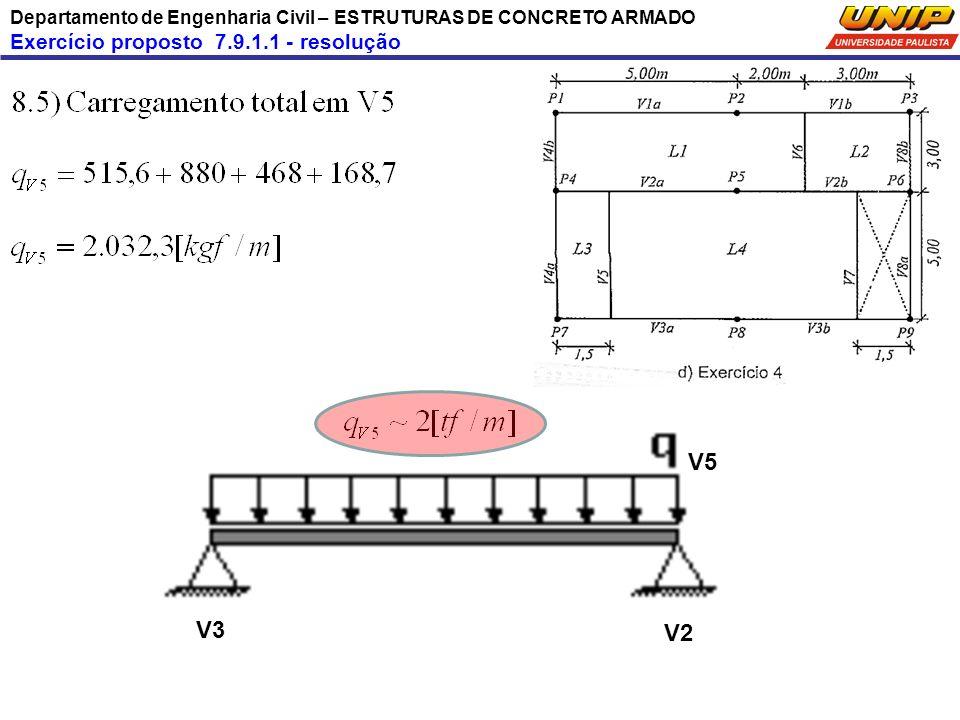 V5 V3 V2 Exercício proposto 7.9.1.1 - resolução