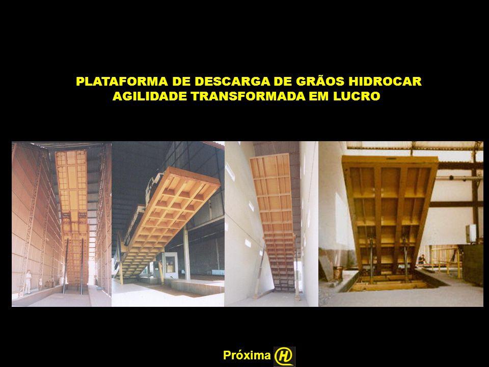 PLATAFORMA DE DESCARGA DE GRÃOS HIDROCAR