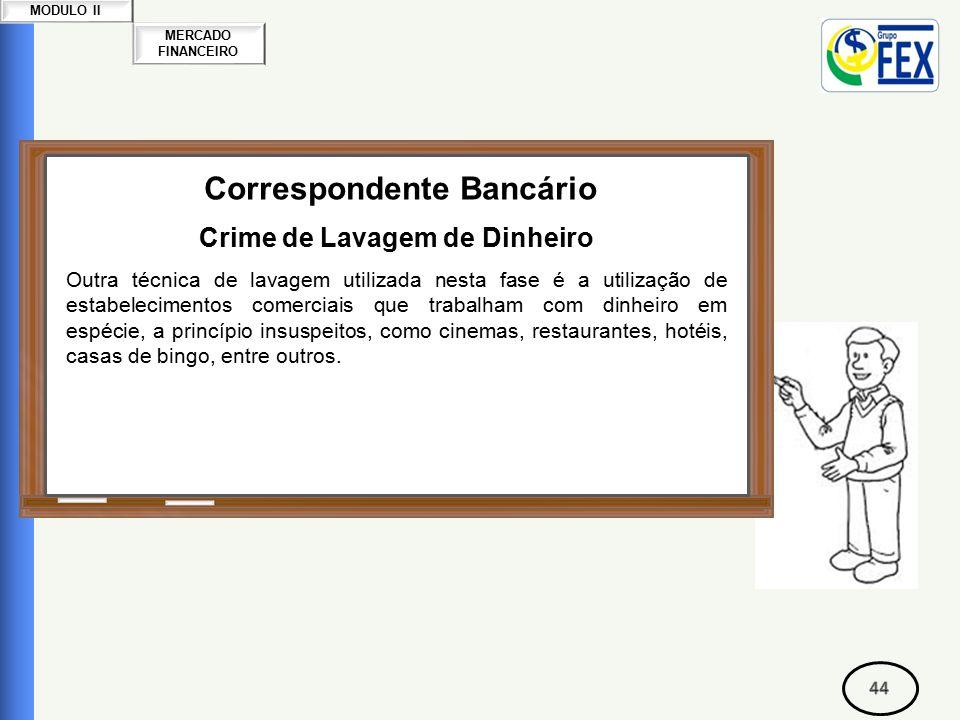 Correspondente Bancário Crime de Lavagem de Dinheiro