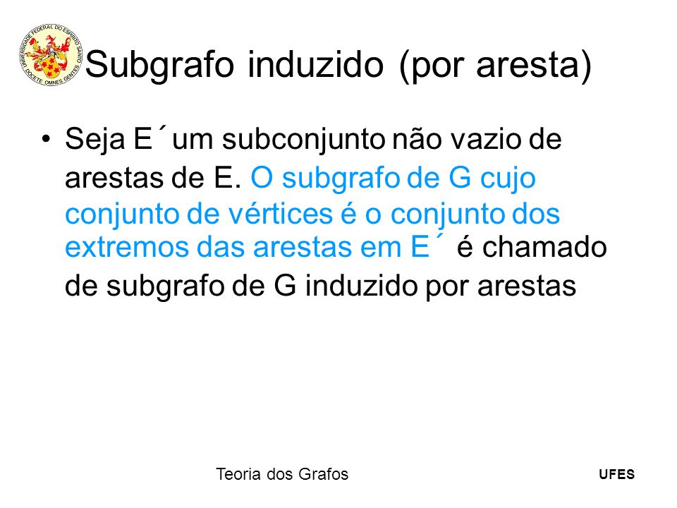 Subgrafo induzido (por aresta)