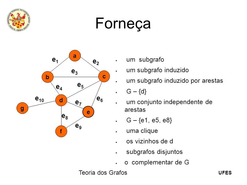 Forneça e10 e1 e2 e3 e4 e5 e6 e7 e8 e9 um subgrafo