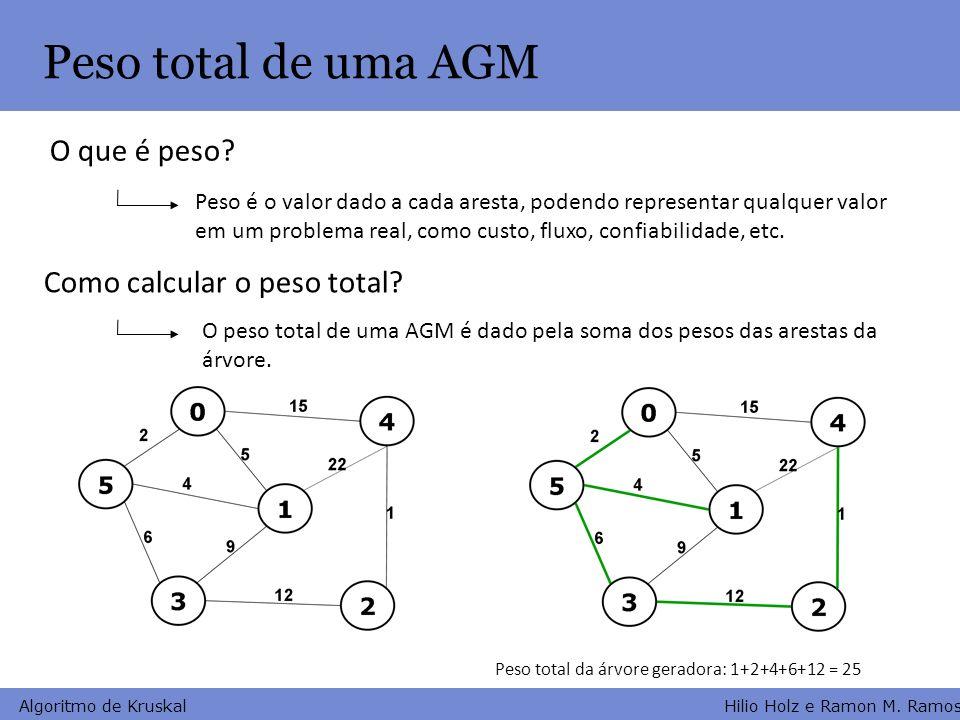 Peso total de uma AGM O que é peso Como calcular o peso total