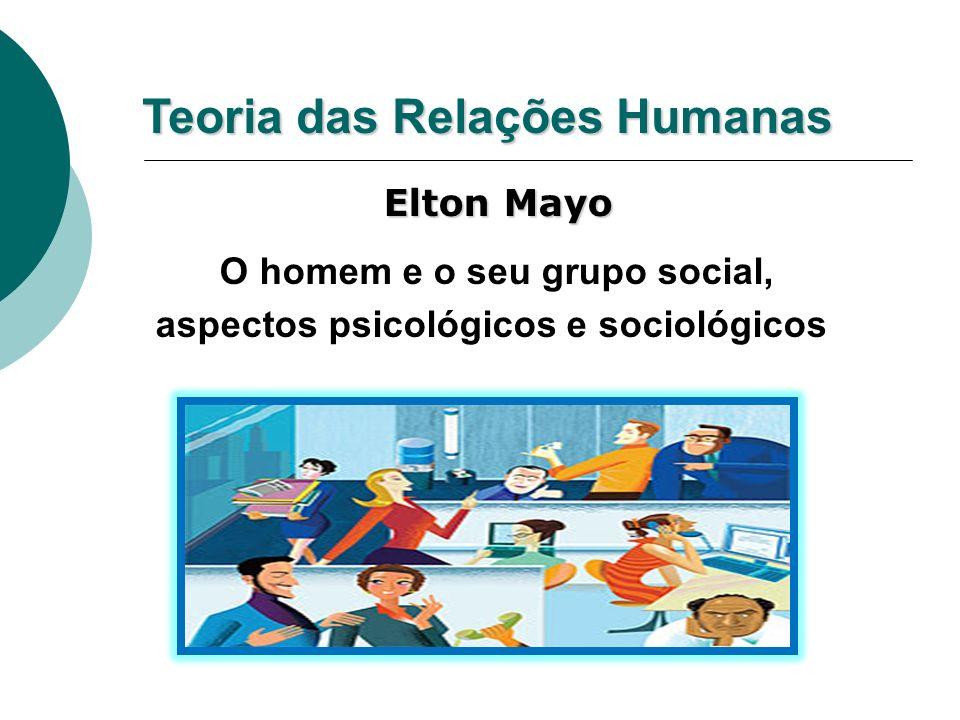 O homem e o seu grupo social, aspectos psicológicos e sociológicos