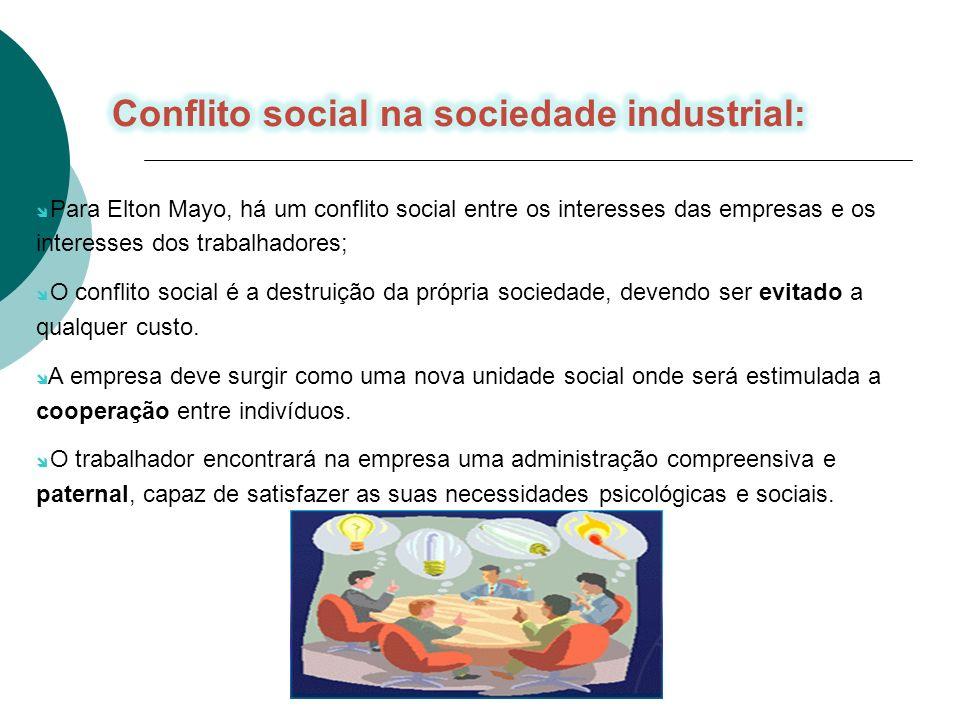 Conflito social na sociedade industrial:
