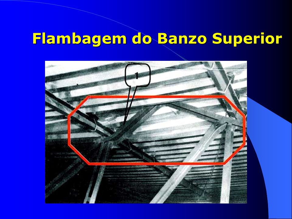 Flambagem do Banzo Superior