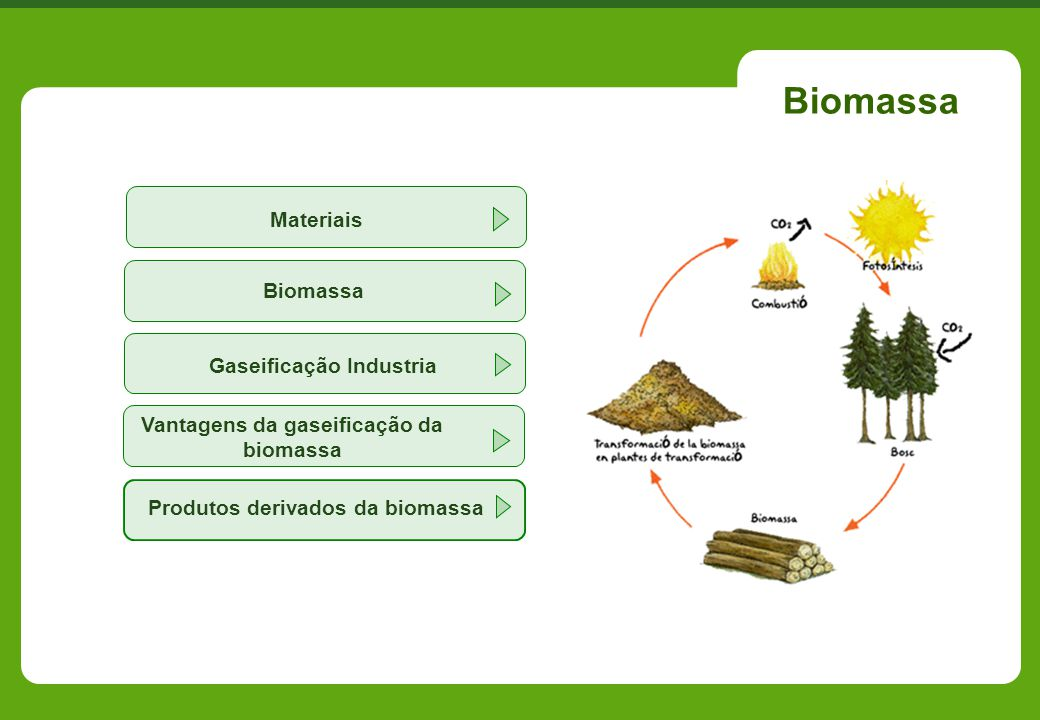 Vantagens da gaseificação da biomassa