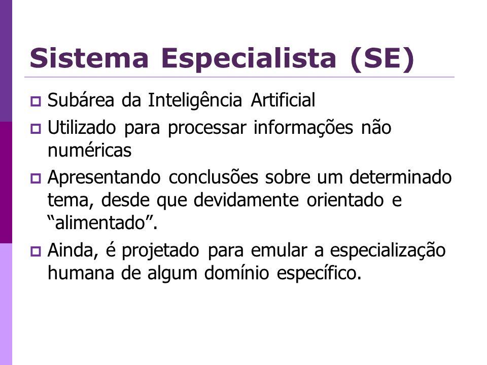 Sistema Especialista (SE)