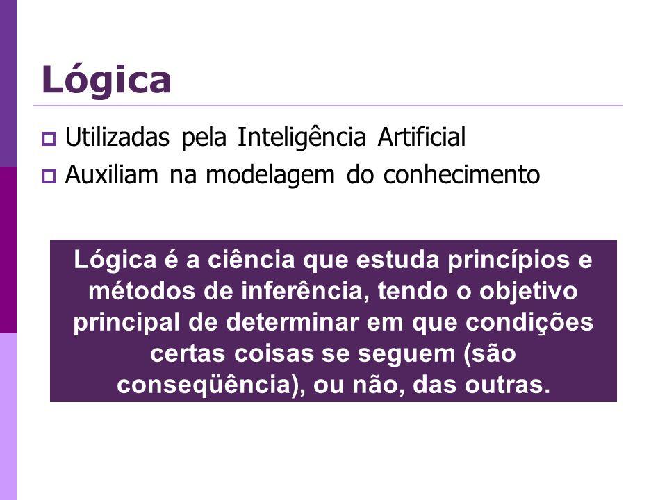 Lógica Utilizadas pela Inteligência Artificial