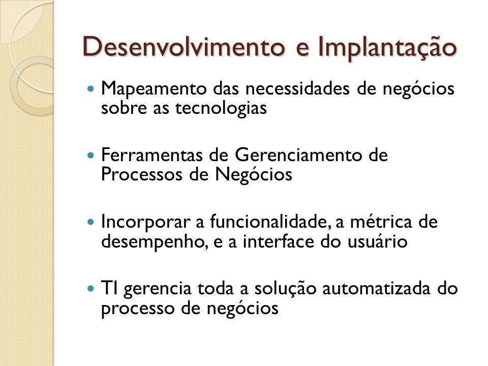 Desenvolvimento e Implantação